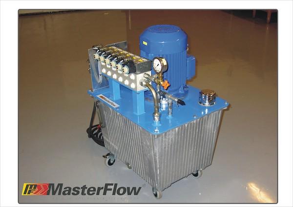 Hidraulikus egység szekvenciális vezérlőhöz